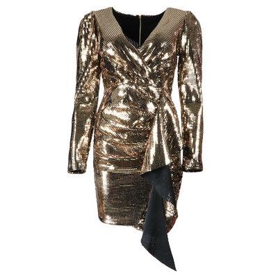 JAIMY Kyra sparkle dress gold