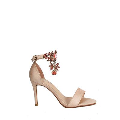 JAIMY Diamond high heels beige
