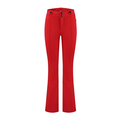 NIKKIE Ski pants rough red