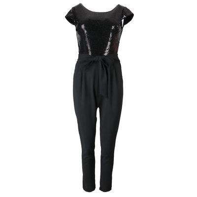 JAIMY Dani sparkle jumpsuit black