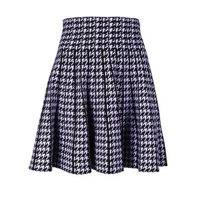 JAIMY Check skirt black lilac