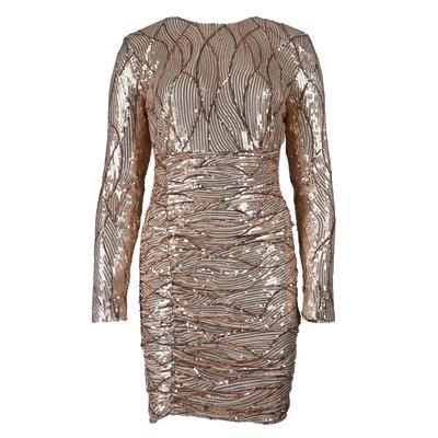 JAIMY Rachel sparkle dress rose
