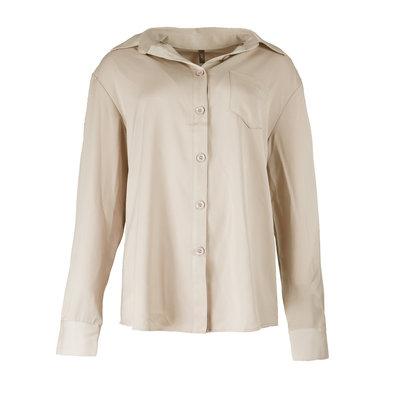 JAIMY Silk blouse beige