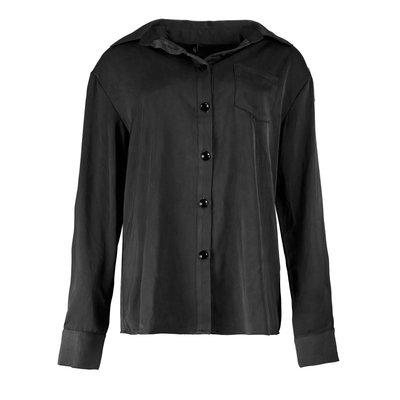 JAIMY Silk blouse black