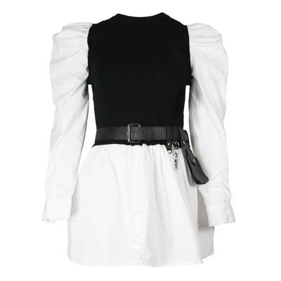 JAIMY Freya blouse spencer included belt black