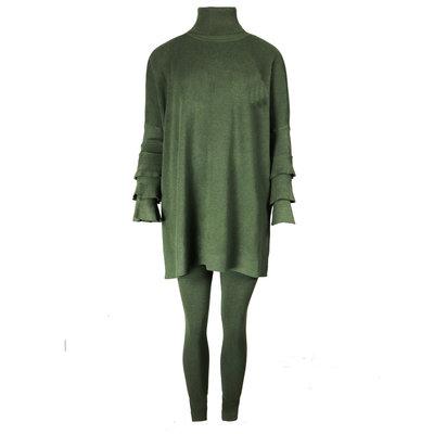 JAIMY Bente 2-piece lounge wear set army green