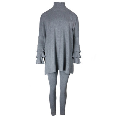 JAIMY Bente 2-piece lounge wear set grey