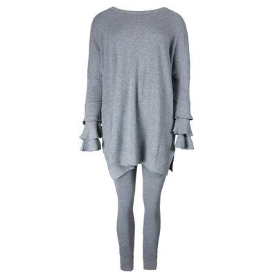 JAIMY Novalie 2-piece lounge wear set grey