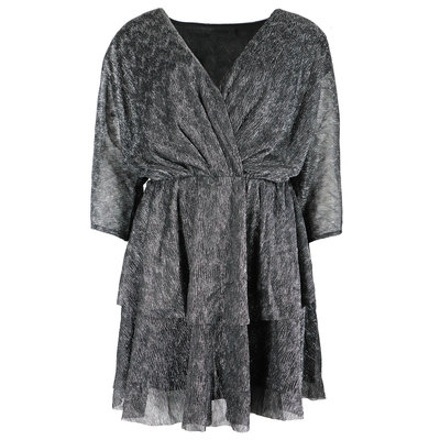 JAIMY Lili sparkle dress black