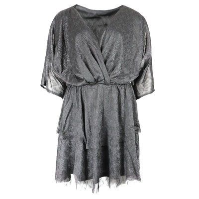 JAIMY Lili sparkle dress zilver