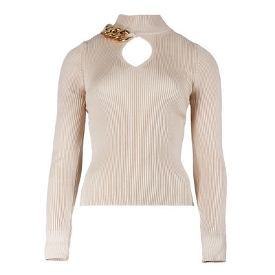 JAIMY Chain top beige