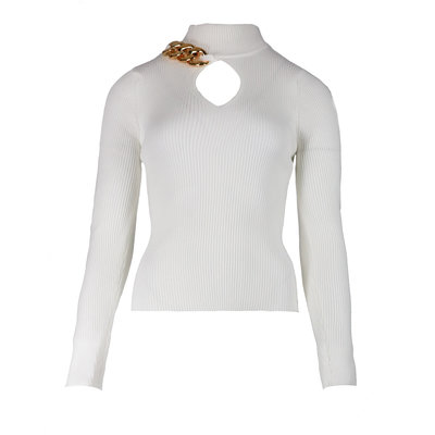JAIMY Chain top white