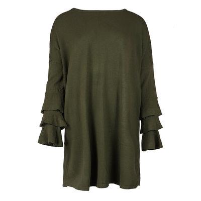 JAIMY SweaterDress Novalie army green