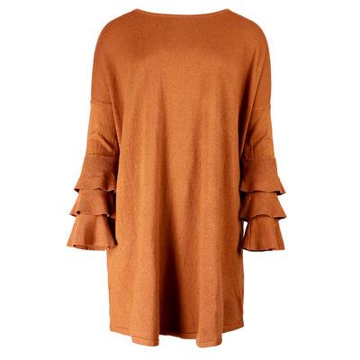 JAIMY SweaterDress Novalie burned orange