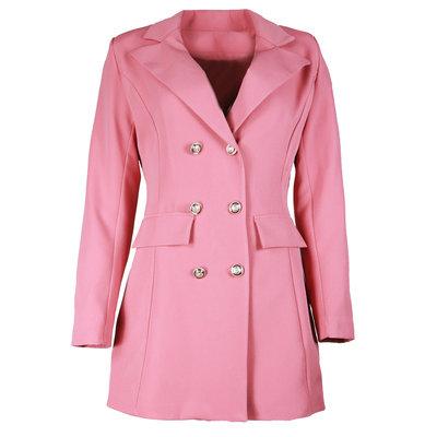 JAIMY Luca long blazer old pink