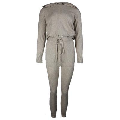JAIMY Hoodie loungewear set beige