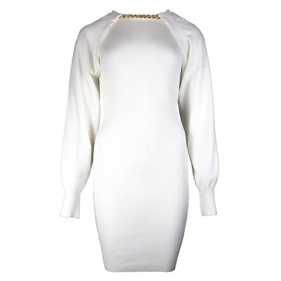 JAIMY More ways chain trend dress white