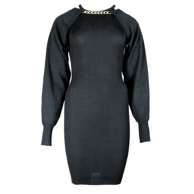 JAIMY More ways chain trend dress black