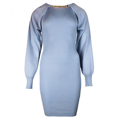 JAIMY More ways chain trend dress light blue