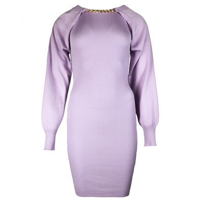 JAIMY More ways chain trend dress lilac