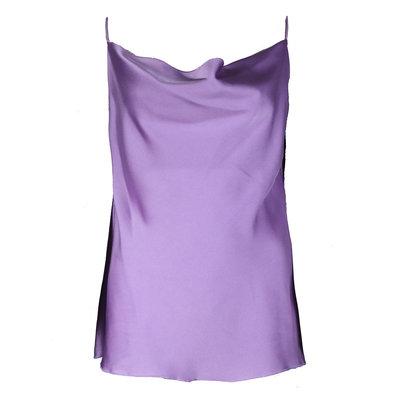 JAIMY Satin strap top lilac