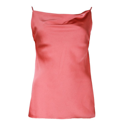 JAIMY Satin strap top blush