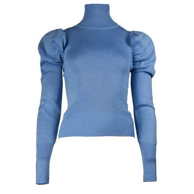 JAIMY Sophie col top blue