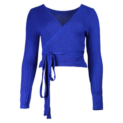 JAIMY Musthave wrap top dark blue