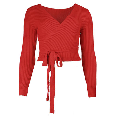 JAIMY Musthave wrap top red