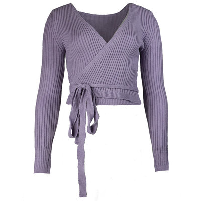JAIMY Musthave wrap top lilac
