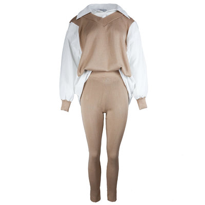 JAIMY Romy blouse comfy set beige