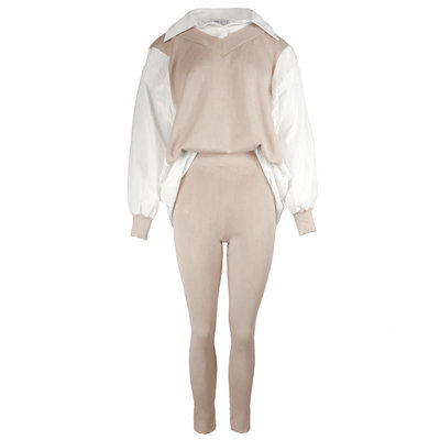 JAIMY Romy blouse comfy set creme