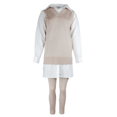 JAIMY Lexi spencer comfy set creme