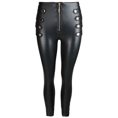 JAIMY Forever leather look pants