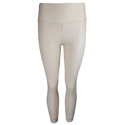 JAIMY LIMITED leather look legging creme