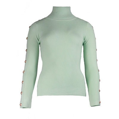JAIMY Button col top mint