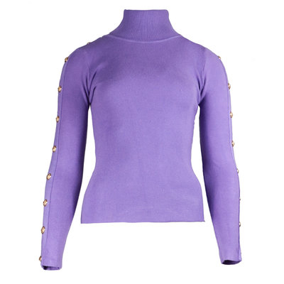 JAIMY Button col top lilac
