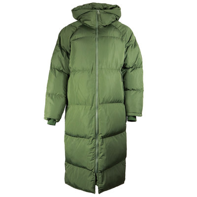 JAIMY Our fav puffer hoody jacket army green