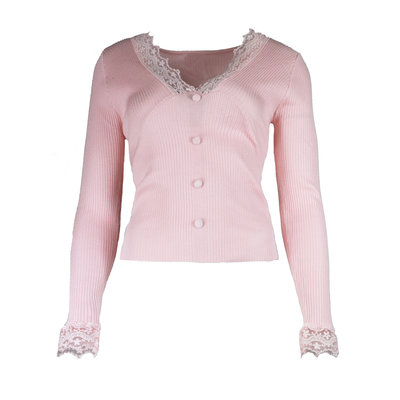 JAIMY Chloe lace top pink