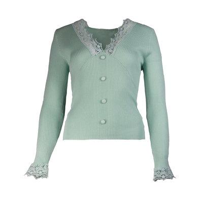 JAIMY Chloe lace top mint