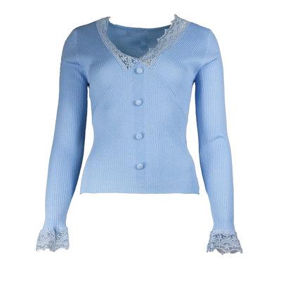JAIMY Chloe lace top light blue