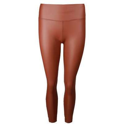 JAIMY LIMITED leather look legging camel