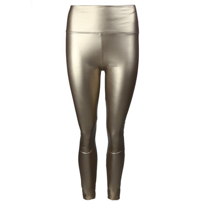 JAIMY LIMITED leather look legging gold