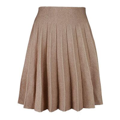 JAIMY Golden sparkle skirt