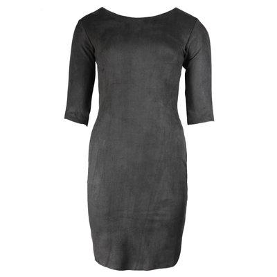 JAIMY Most beautiful suede dress black