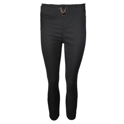JAIMY Pantalon pants v-detail belt