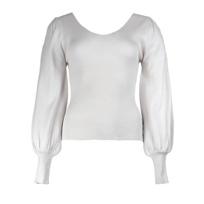JAIMY Love is in the air top white
