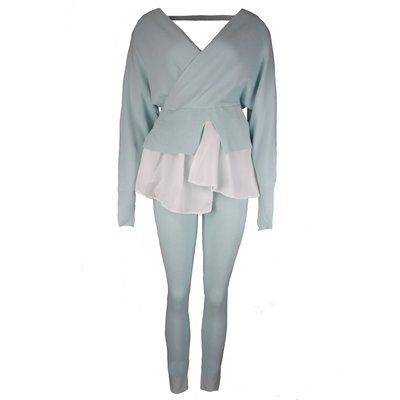 JAIMY Esmee blouse comfy set light blue