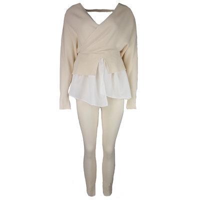 JAIMY Esmee blouse comfy set beige