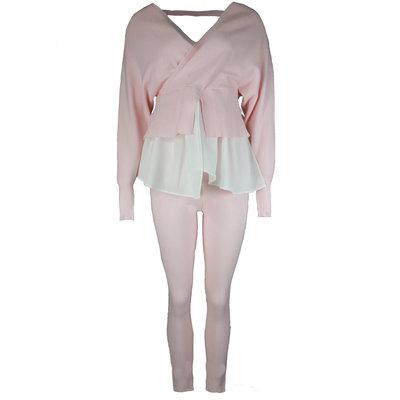 JAIMY Esmee blouse comfy set pink